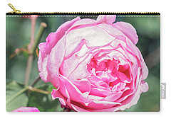 Carry-all Pouch featuring the photograph One Bold, One Bashful by Linda Lees