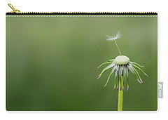 Carry-all Pouch featuring the photograph One Dandy by Bess Hamiti