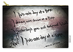 Carry-all Pouch featuring the photograph One Day.... by Trish Mistric
