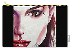 Carry-all Pouch featuring the painting One Decision by Michal Madison