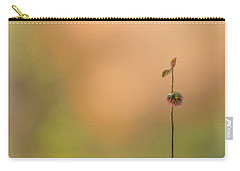 Carry-all Pouch featuring the photograph oNe by Gene Garnace