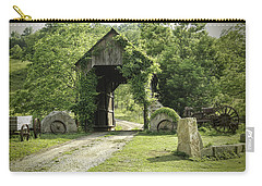 One Lane Covered Bridge Carry-all Pouch