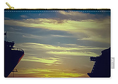 Carry-all Pouch featuring the photograph One Last Glimpse by DigiArt Diaries by Vicky B Fuller