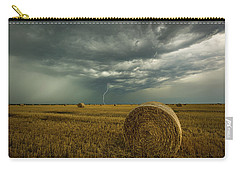 Carry-all Pouch featuring the photograph One More Time A Round by Aaron J Groen