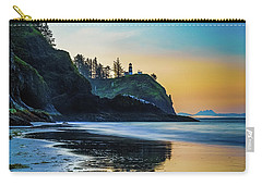 Carry-all Pouch featuring the photograph One Morning At The Beach by Ken Stanback