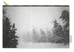 Carry-all Pouch featuring the photograph One Night  by Mark Ross