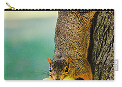 One Nut Is Never Enough Carry-all Pouch by Joni Eskridge