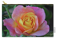 One Of Several Roses Carry-all Pouch by Debby Pueschel