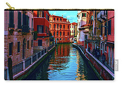 one of the many beautiful old Venetian canals on a Sunny summer day Carry-all Pouch