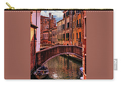 One Of The Many Canals Of Venice Carry-all Pouch