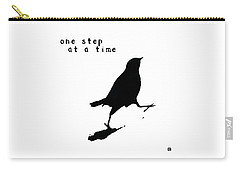 One Step At A Time Wee Bird Carry-all Pouch