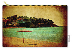 Carry-all Pouch featuring the photograph One Summer Day In Greece by Milena Ilieva