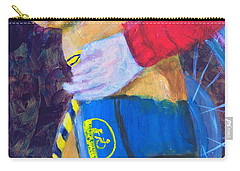 Carry-all Pouch featuring the painting One Team Two Heroes 3 by Donald J Ryker III