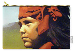 One Who Soars With The Hawk Carry-all Pouch