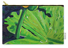 One Yellow Lily Carry-all Pouch