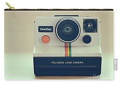 Carry-all Pouch featuring the photograph Onestep Polaroid by Ana V Ramirez