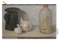 Onion And Garlic, Tin Can And Painting Medium Bottle Carry-all Pouch
