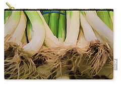 Onions 02 Carry-all Pouch by Wally Hampton