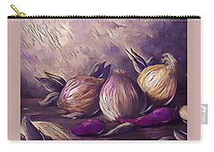 Onions And Peppers Digital Carry-all Pouch