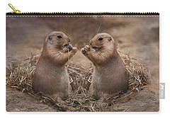 Carry-all Pouch featuring the photograph Only Hearts II by Robin-Lee Vieira