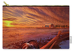 Carry-all Pouch featuring the photograph Only This Moment In Between Before And After by Phil Koch