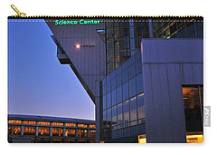 Carry-all Pouch featuring the photograph Connecticut Science Center by Mike Martin
