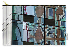 Carry-all Pouch featuring the photograph Op Art Windows I by Marianne Campolongo