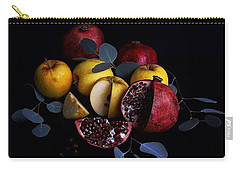 Opal Apples And Pomegranates Carry-all Pouch