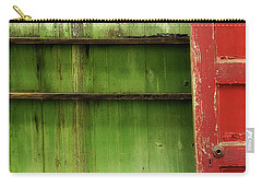 Carry-all Pouch featuring the photograph Open Door by Mike Eingle
