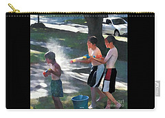 Open Fire Carry-all Pouch by Jodie Marie Anne Richardson Traugott          aka jm-ART