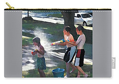 Carry-all Pouch featuring the photograph Open Fire by Jodie Marie Anne Richardson Traugott          aka jm-ART