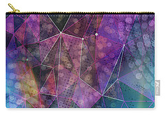 Open Geometric Carry-all Pouch