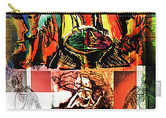 Open Mic Poetry Carry-all Pouch by John Jr Gholson