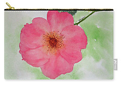 Open Rose Carry-all Pouch