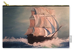 Open Seas Carry-all Pouch by Denise Tomasura