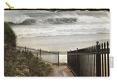 Carry-all Pouch featuring the photograph Open To The Sea by Robin-Lee Vieira