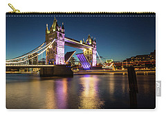 Open Tower Bridge London  Carry-all Pouch by Mariusz Czajkowski