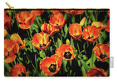 Open Wide - Tulips On Display Carry-all Pouch