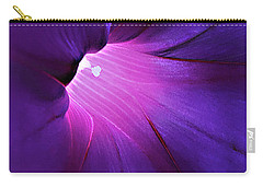 Opening One's Heart Carry-all Pouch by Sherry Hallemeier