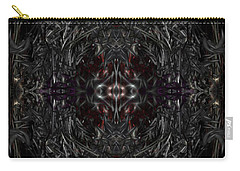 Carry-all Pouch featuring the digital art Opening The Seal by Reed Novotny