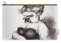 Opera Singer Carry-all Pouch by Yvonne Wright