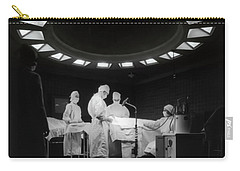 Carry-all Pouch featuring the photograph Operating Room Theater 1933 by Daniel Hagerman