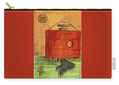 Carry-all Pouch featuring the painting Opium by P J Lewis