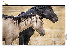 Opposites Attract Carry-all Pouch by Mary Hone
