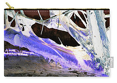 Oppostracts 17 - Dripping In Purple Carry-all Pouch