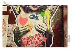 Oprah Winfrey Graffiti In New York  Carry-all Pouch
