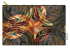 Carry-all Pouch featuring the photograph Optical Abstraction by Liz Alderdice