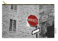 Optical Illusion, Quebec City Carry-all Pouch