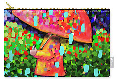 Rainy Day Stroll Carry-all Pouch by Dani Abbott