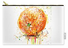Orange 1 Carry-all Pouch by Arleana Holtzmann